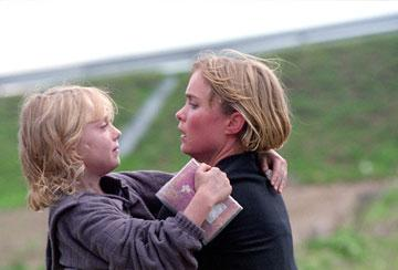 Radha Mitchell and Dakota Fanning in 20th Century Fox's Man on Fire