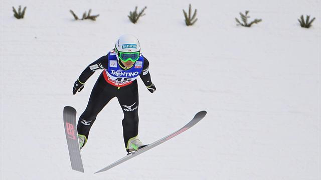 Ski Jumping - Takanashi seals victory number eight for the season