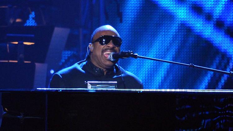 Stevie Wonder Musi Cares Event