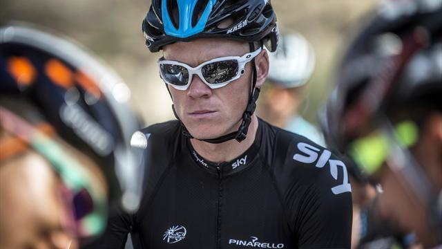 Cycling - Froome looking to follow Wiggins's path in Romandie