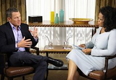 Lance Armstrong and Oprah Winfrey | Photo Credits: George Burns/Harpo Inc.