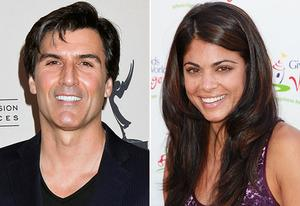 Vincent Irizarry, Lindsay Hartley | Photo Credits: Tibrina Hobson/Getty Images; David Livingston/Getty Images