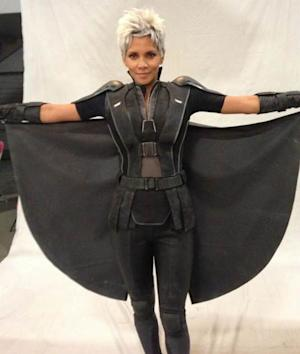 Halle Berry as Storm in 'X-Men: Days of Future Past,' April 2013 -- Twitter
