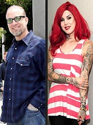 Jesse James and Kat Von D. Photo: Splash News Online; Michael Williams/Startraks