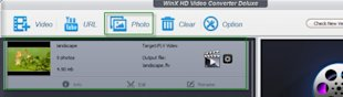 WinX HD Video Converter Deluxe Review: Multi functional HD Video Converter   image make slideshow1