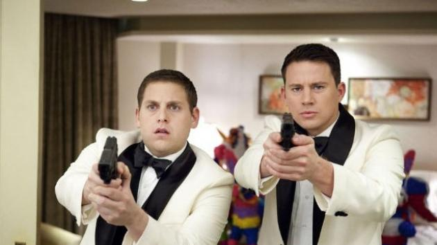Jonah Hill and Channing Tatum in a screen from '21 Jump Street' -- Sony Pictures