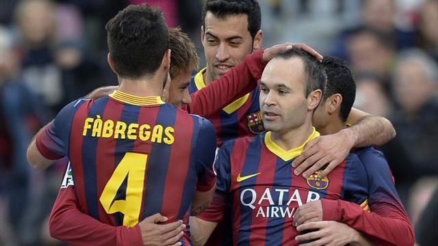 Liga - Iniesta: Barca need almost perfect game to win El Clasico