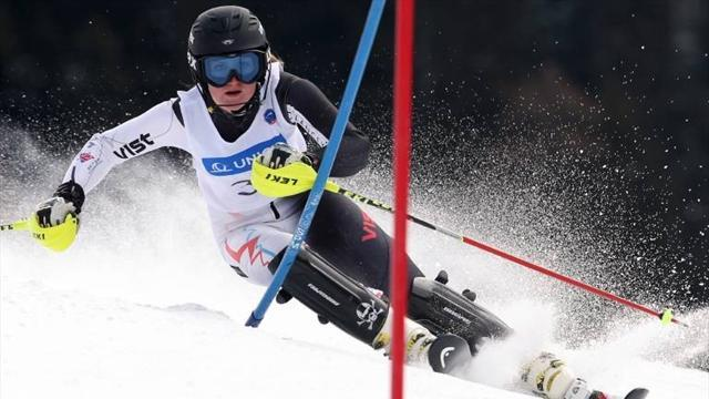 Alpine Skiing - Guest powers to British ladies' titles