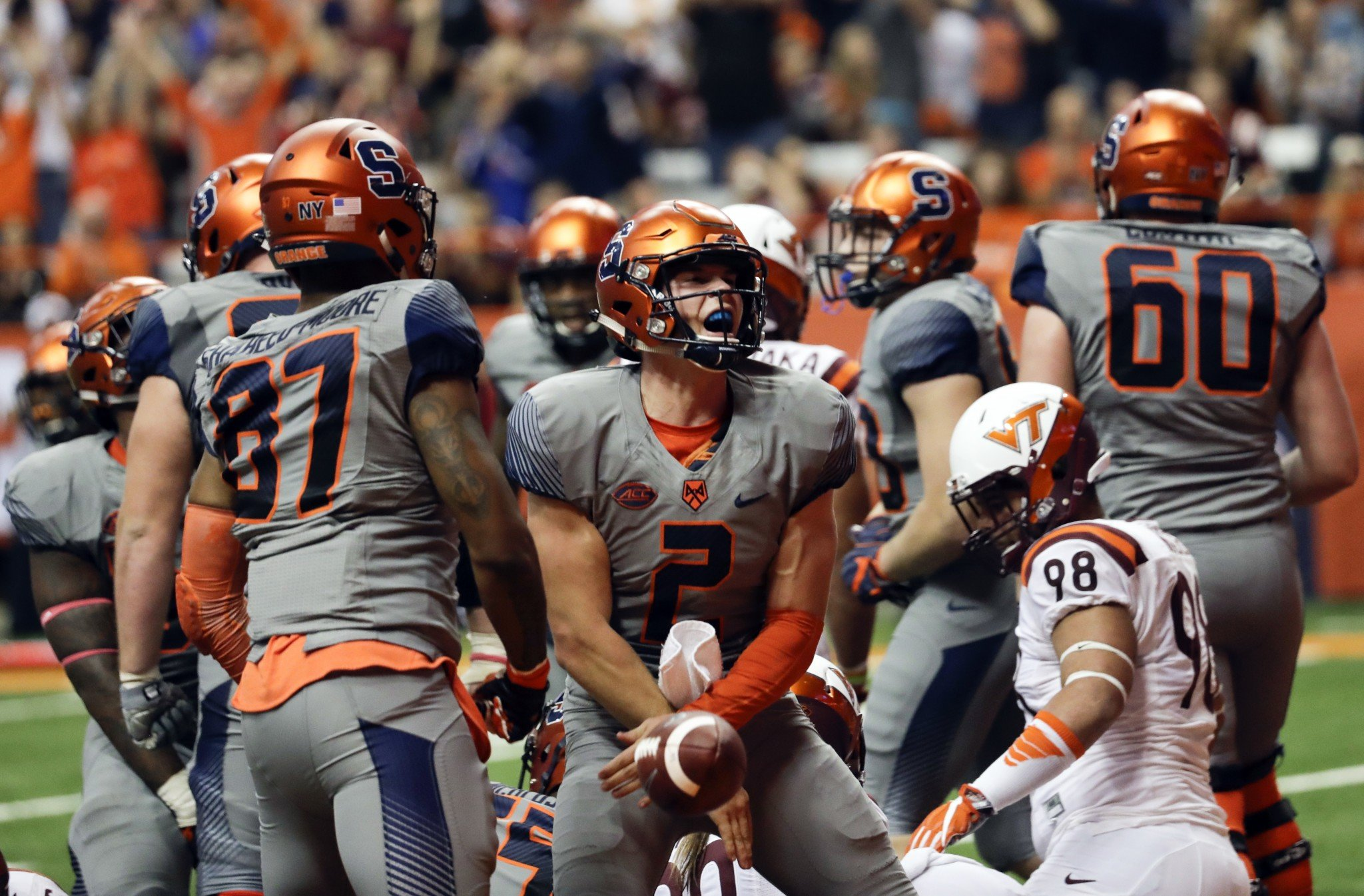 Virginia Tech Blows Chance To Grab Hold Of Acc Coastal