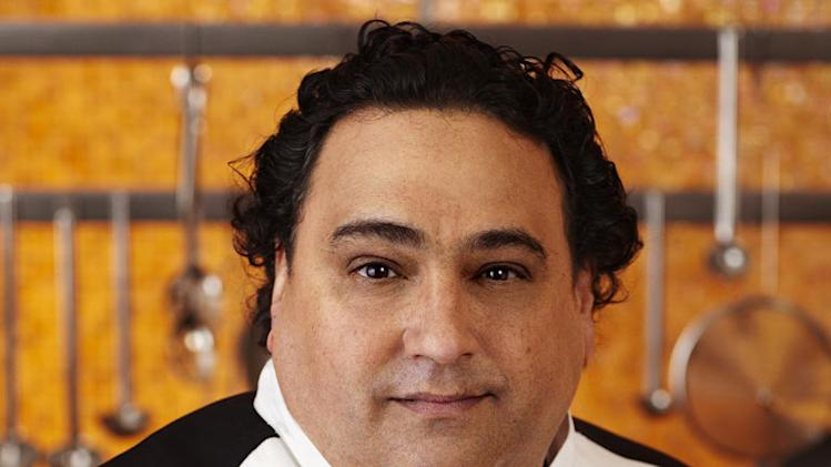 "Raj Brandston (Los Angeles, CA) is a contestant on the Blue Team on Season 8 of ""Hell's Kitchen."""