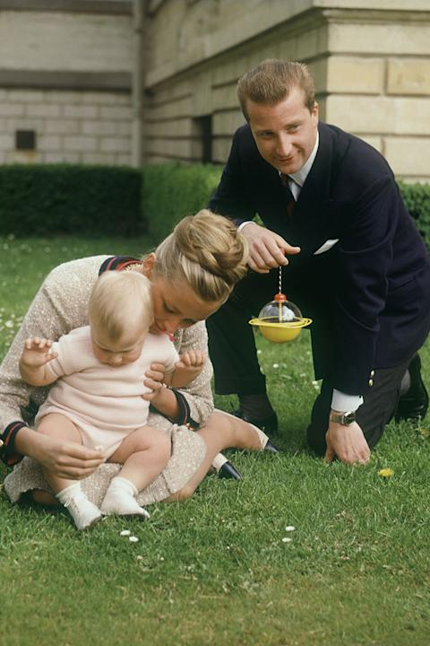 Prince Albert and Princess Paola of Belgium, 1961