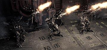 The APUs firing in Warner Brothers' The Matrix: Revolutions