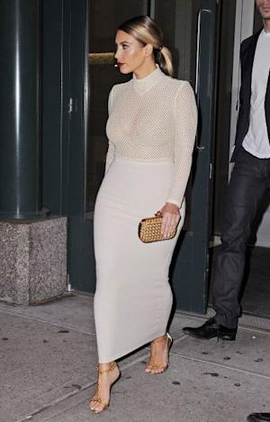 Kim Kardashian is seen on November 18, 2013 in New York City -- Getty Images
