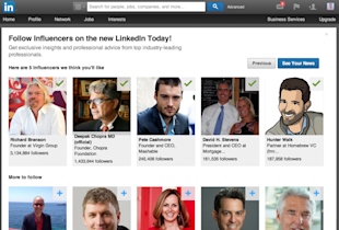 LinkedIn Goes All in With Content image Screen Shot 2013 12 05 at 12.27.47 AM