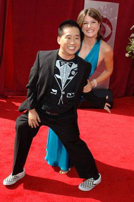 Bobby Lee and Nicole Parker (II) 57th Annual Emmy Awards Arrivals - 9/18/2005