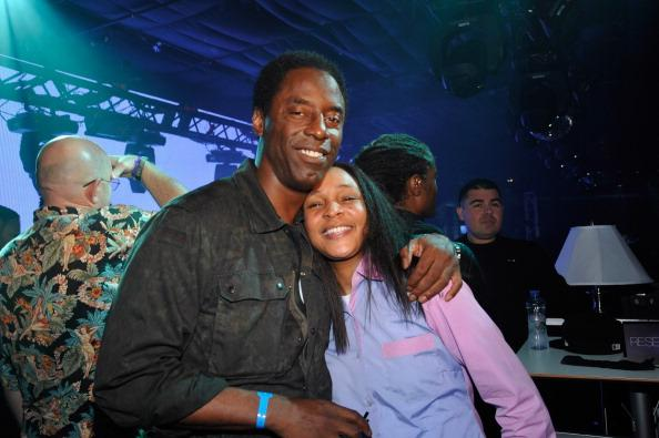 Isaiah Washington and Felicia Pearson