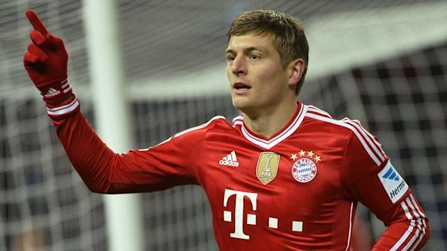 Toni Kroos of Bayern Munich (AFP)
