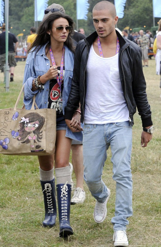 Max George and Michelle Keegan
