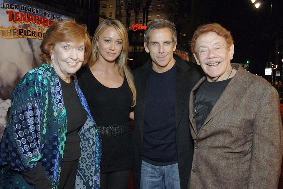 Anne Meara Christine Taylor Ben Stiller Jerry Stiller 2006