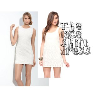 The Lace Shift Dress