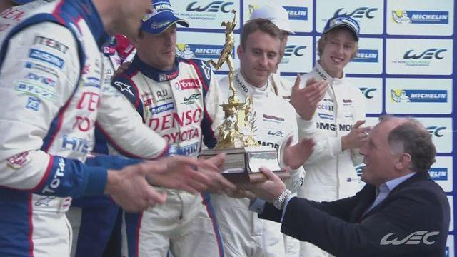 Toyota take first and second at the 6 Hours of Silverstone