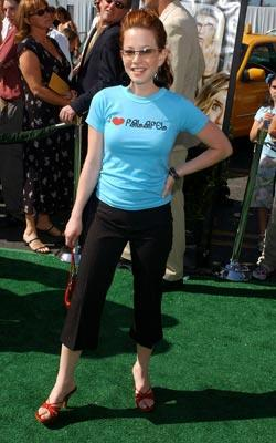 Amy Davidson at the world premiere of Warner Brothers' New York Minute