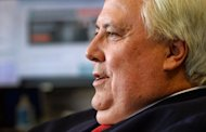 Flamboyant Australian billionaire and leader of the Palmer United Party, Clive Palmer, pictured in Sydney, on August 27, 2013. Palmer said on Thursday he plans to sue Rupert Murdoch over unflattering allegations and claimed the media mogul's estranged wife is a Chinese spy