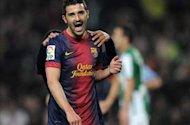 Tottenham launch £10m bid for David Villa