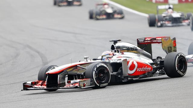 Formula 1 - McLaren in race to make first test