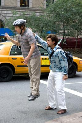 Nick Swardson and Adam Sandler in Columbia Pictures' You Don't Mess With the Zohan