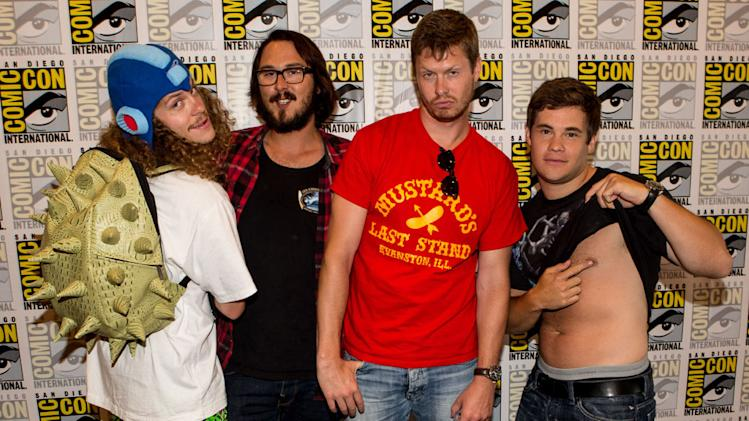 "Comic-Con International 2012 - ""Workaholics"" Panel"