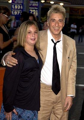 Al Pacino and daughter Julie at the LA premiere of New Line's Simone