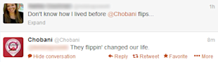 What Have You Done For Me Lately? Thoughts on the Brand Customer Relationship image Chobani 1