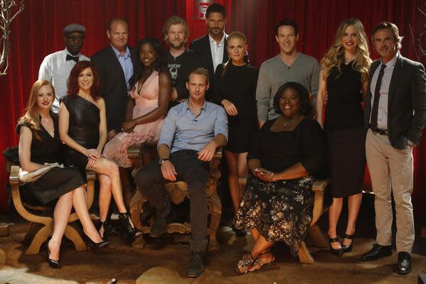 #WaitingSucks, but it's finally over. #TBLive starts now. RT if you're watching the #truebloods6 premiere event.