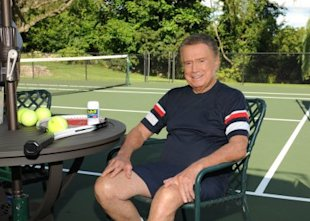 Regis and Joy Philbin hit the tennis court to share how they rely on Advil® to relieve their aches and pains through a new true stories commercial spot which will debut this fall.