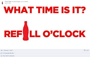 The 15 Best Facebook Posts Ever Written image coca cola facebook post example 1