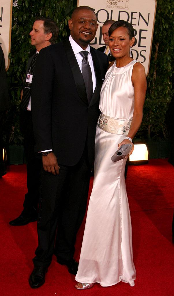 Forest Whitaker and Keisha Whitaker at the 64th annual Golden Globe Awards.