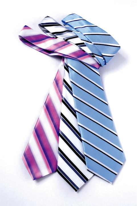 assorted ties