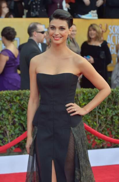 Morena Baccarin attends the 19th Annual Screen Actors Guild Awards at The Shrine Auditorium on January 27, 2013 in Los Angeles, Calif. -- Getty Premium