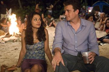 Mila Kunis and Jason Segel in Universal Pictures' Forgetting Sarah Marshall