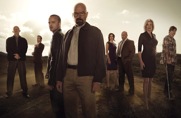 The cast of 'Breaking Bad' Season 5 (Frank Ockenfels/AMC)