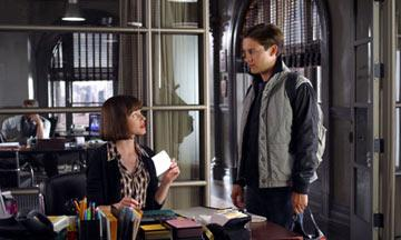 Elizabeth Banks and Tobey Maguire in Columbia Pictures' Spider-Man 2