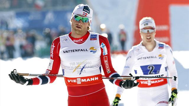 Cross-Country Skiing - Seventh heaven for Norway men's relay team
