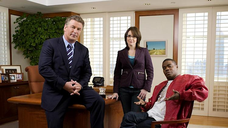 The cast of 30 Rock on NBC.