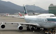 "Cathay Pacific said its 2012 first half results are likely to be ""disappointing"", as it announced a raft of cost-cutting measures in response to higher fuel prices"