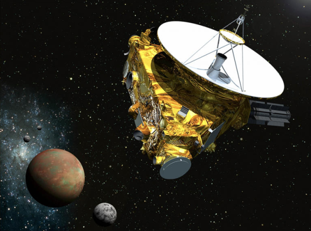 NASAs New Horizons Wakes Up To Meet With Pluto image New Horizons Probe