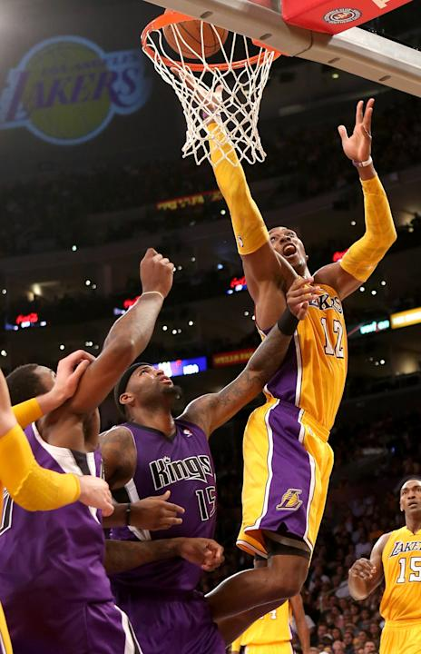Sacramento Kings v Los Angeles Lakers