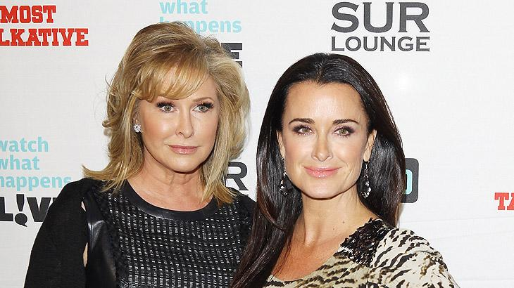 Kathy Hilton, Kyle Richards