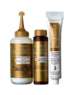 L'ORÉAL PARIS SUPERIOR PREFERENCE FADE-DEFYING COLOR & SHINE SYSTEM