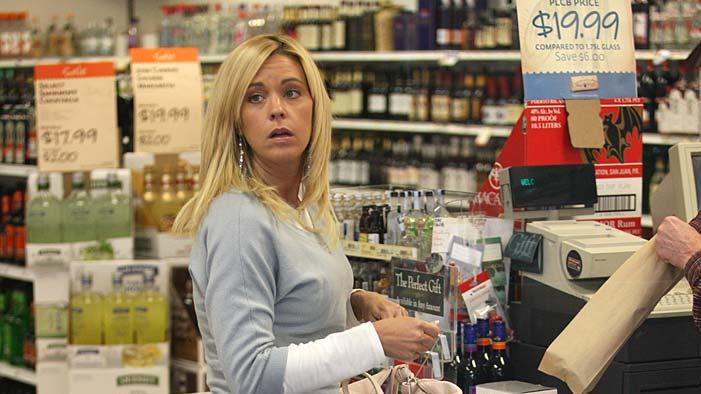 Kate Gosselin Liquor Store
